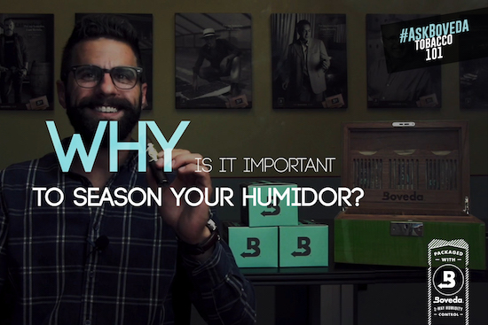Why is it Important to Season Your Humidor?