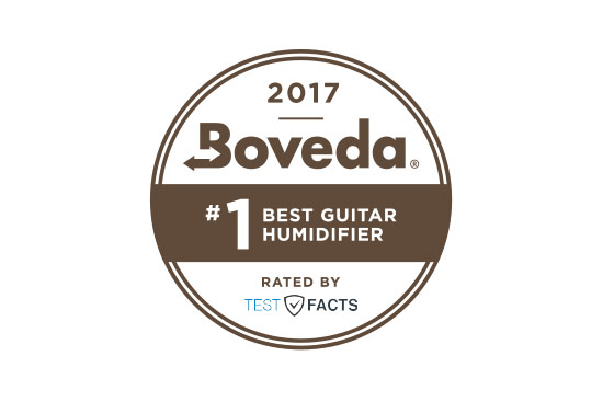 Boveda is the #1 Guitar Humidifier!