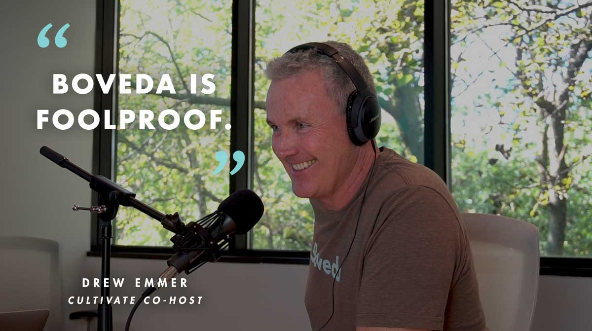 Drew Speaking about Boveda for Cannabis