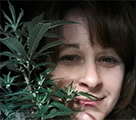 Dianna Donnelly home grower who uses Boveda, the original terpene shield, to cure and store her dried flower.
