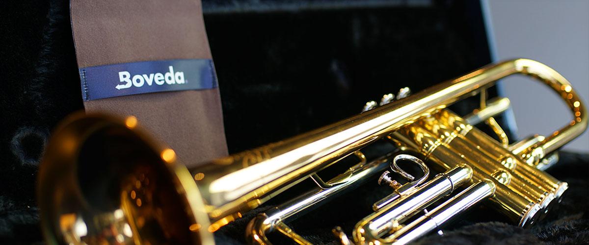 Boveda for Brass Instruments