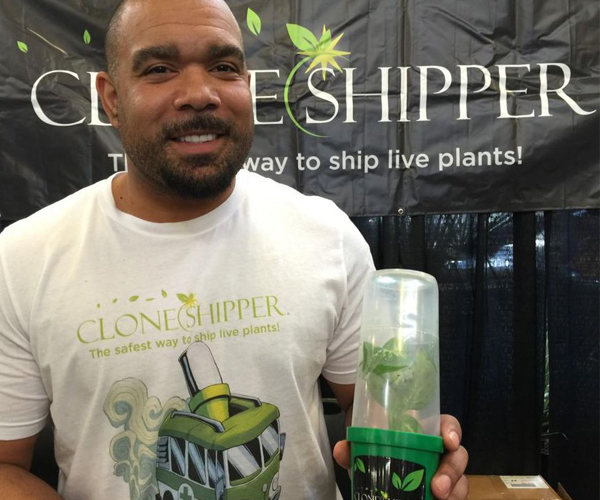 Larry Fenner with Clone Shipper