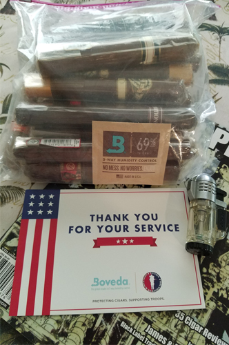 Cigars from Cigars for Warriors