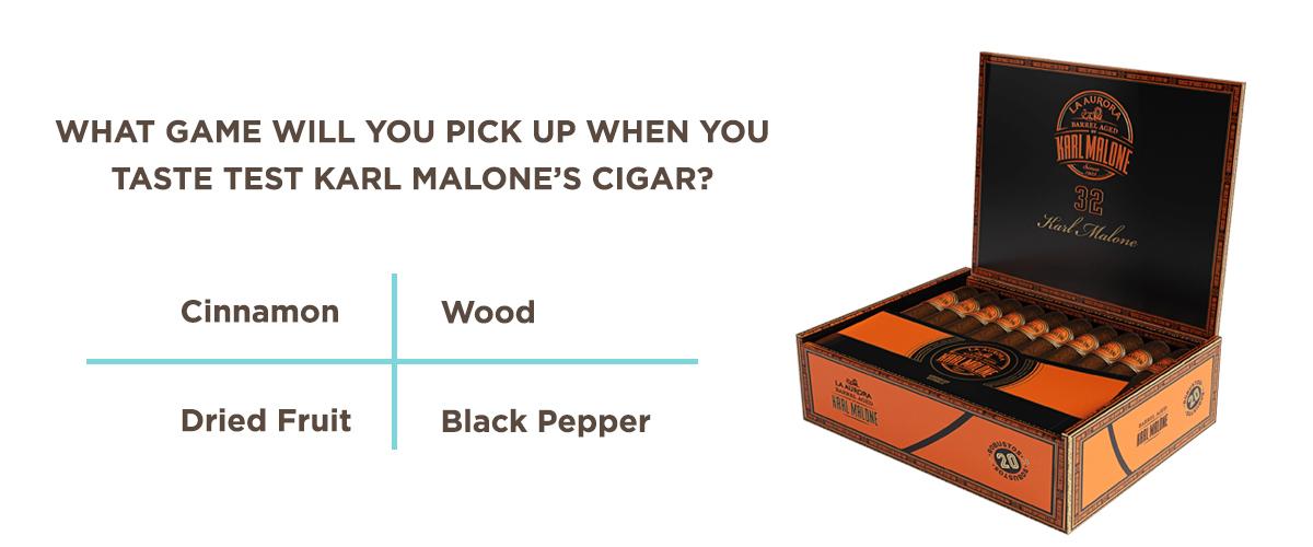 Karl Malone Cigar Flavor Profile