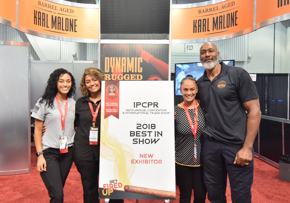 Karl and his hard-working family nabbed a Best in Show New Exhibitor Award at the 2018 IPCPR Trade Show in Las Vegas