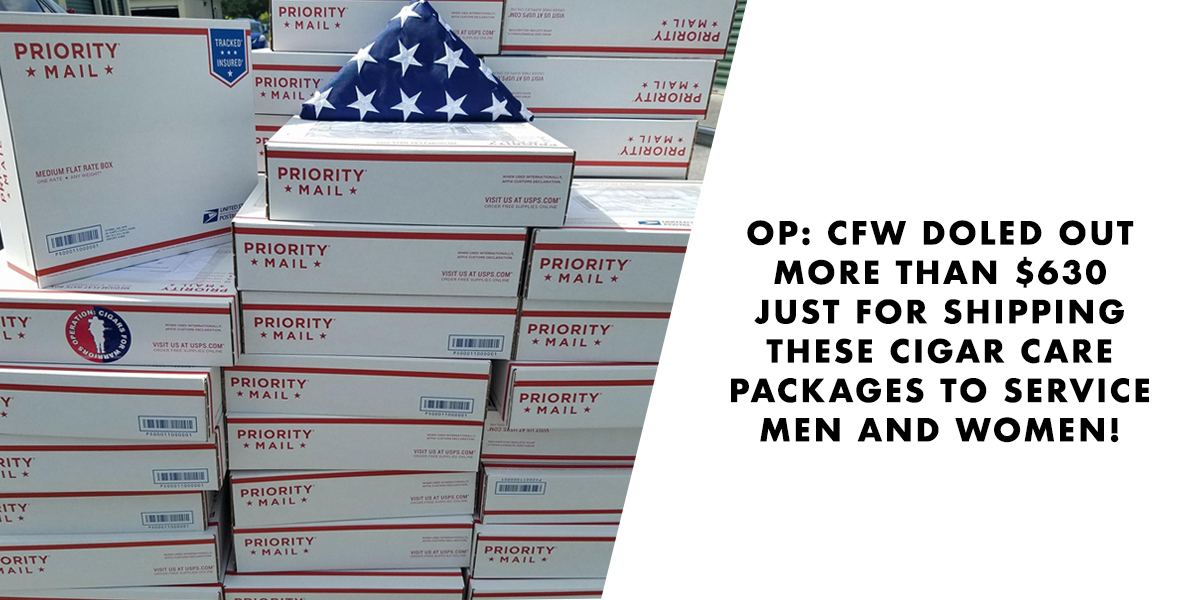 Cigars for Warriors Packages