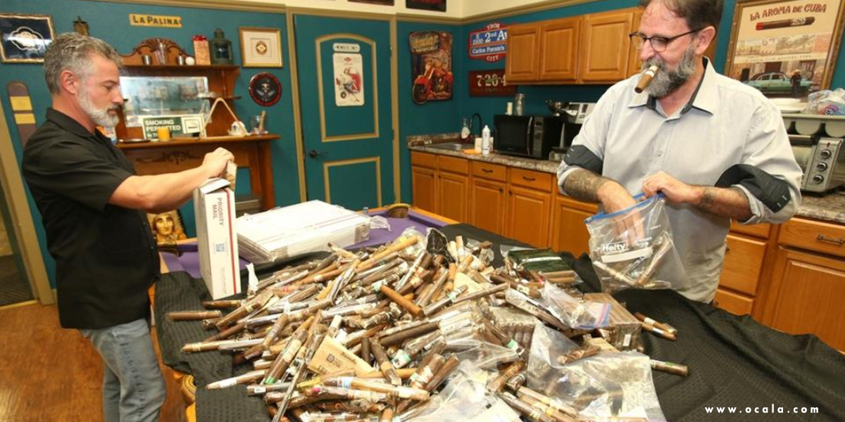 Operation: Cigars for Warriors packing shipments