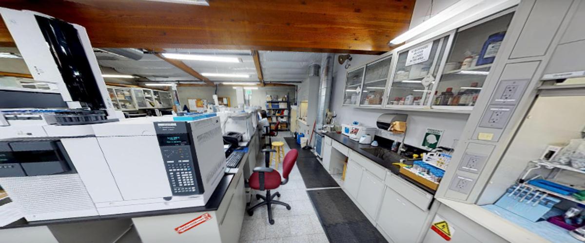 Anresco Labs interior shot