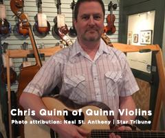 Chris Quinn of Quinn Violins