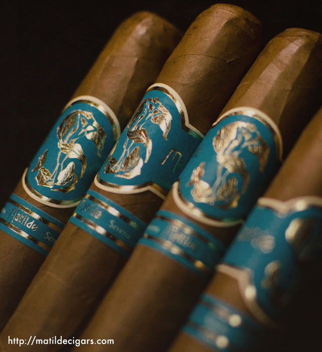 Matilde Serena, a milder cigar that makes a perfect first smoke of the day. Captured a 91 rating from Cigar Aficionado.