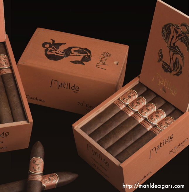 Matilde Quadrata is the company's first, fully box-pressed offering. The long, nutty finish. Selected one of  Cigar Dojo's Top 10 in 2016..