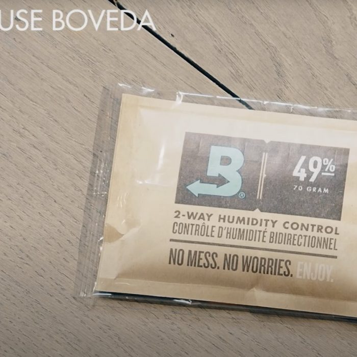 How to use Boveda for your instrument