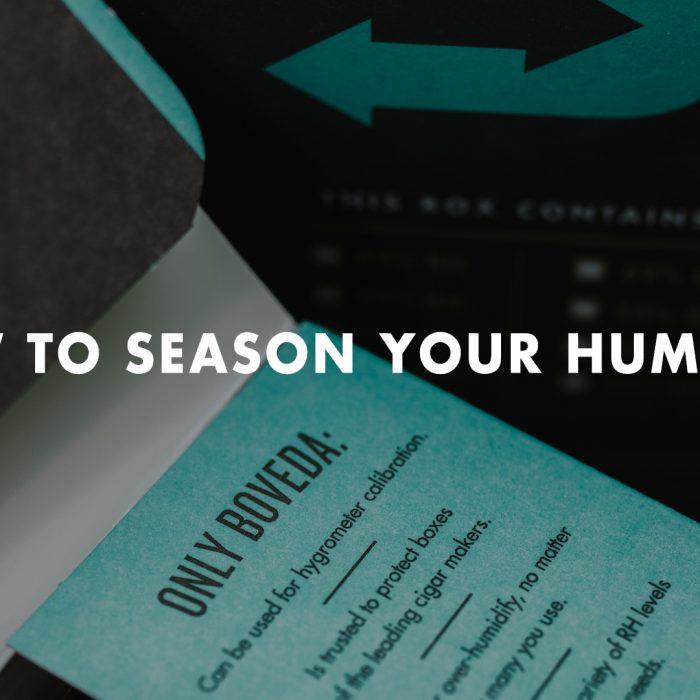 How to season your humidor video screenshot