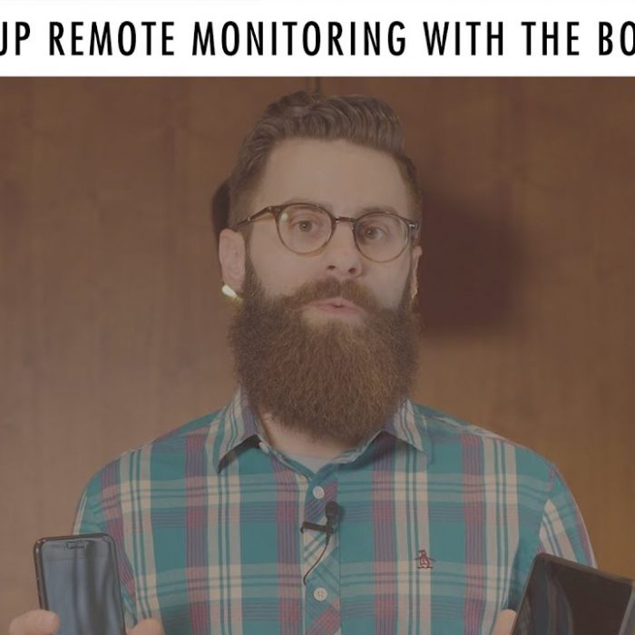How to setup remote monitoring with Boveda butler video screenshot