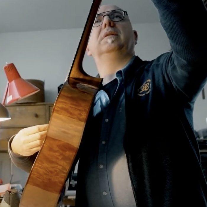 Ralph Bonte of Arrenbie Guitars