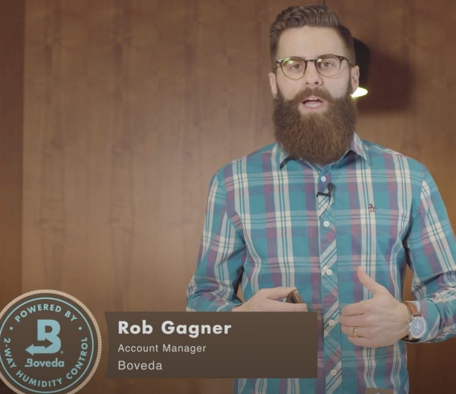 Screenshot from video on how to use Boveda Butler