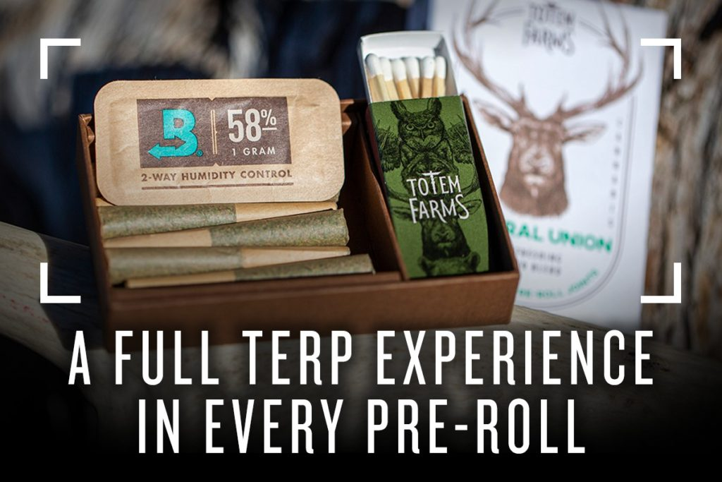 By packaging pre-rolls with the original terpene shield, consumers get the full terpene experience, which means full aroma, flavor and experience. Nothing is lost to terpene evaporation.
