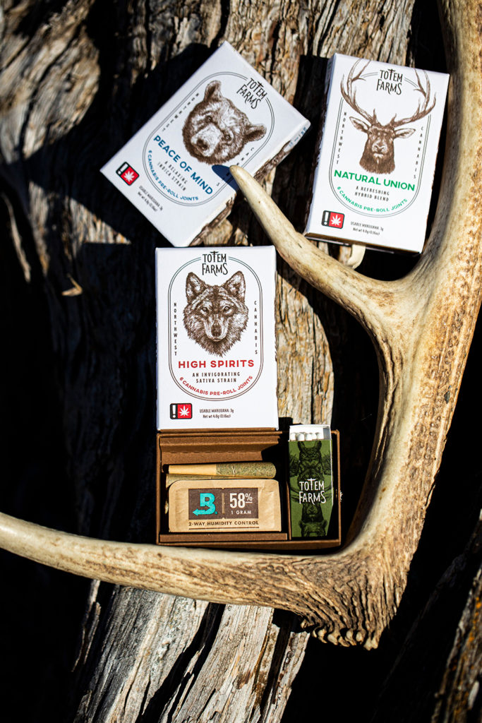 Totem Farms protect aroma, flavor and effects with a terpene shield.