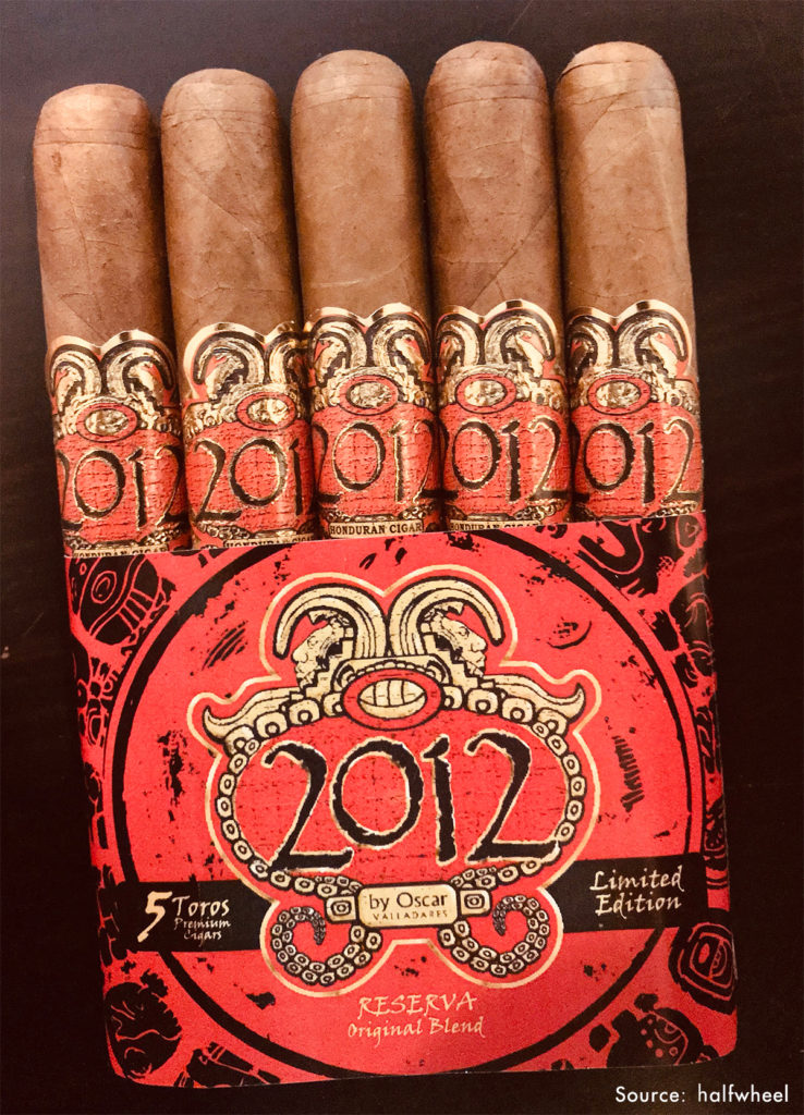 2012 cigars by Oscar Reserva Original by Oscar Valladares Tobacco & Co., were reissued to commemorate the release of its first premium cigars, protected by Boveda.