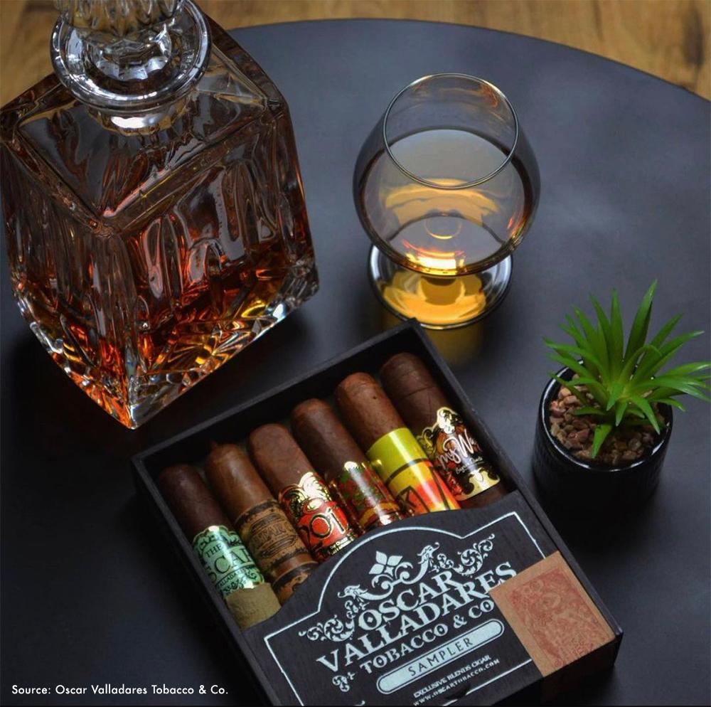 The Oscar Valladares Sampler makes a great gift for cigar smokers.