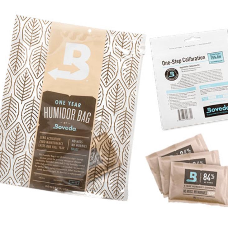 Boveda Wood Humidor Seasoning Kit