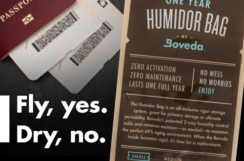 Traveling with Boveda: Preventing & Reviving Dry Cigars
