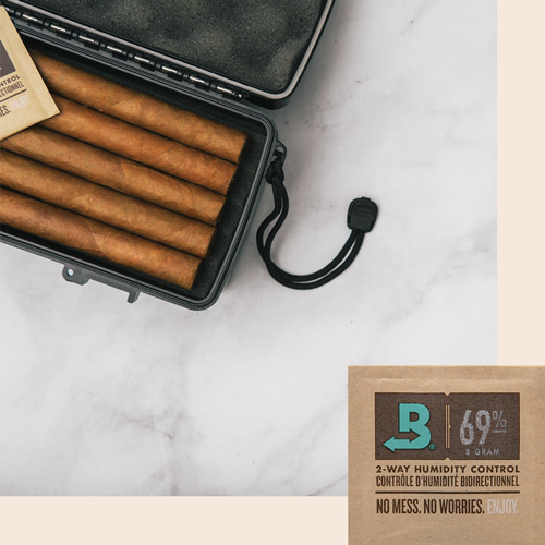 Boveda size 8 for travel humidors